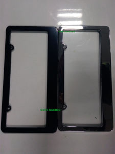 Car License Plate Frame License Holder with ABS 312*160mm License Plate Frame Bolts Holder Car Number Plate Frame Car Styling pictures & photos