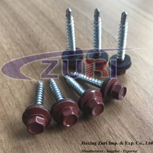 Roofing Screw 4.8X35 Fastener Ral 3009 pictures & photos