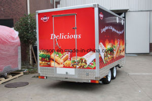Australia Standard Hamburger Food Service Trailer pictures & photos