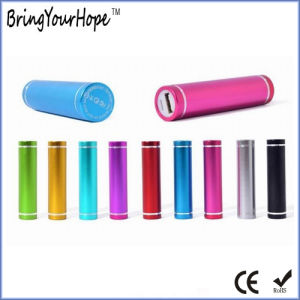 2600mAh Aluminum Alloy Cylinder Power Bank (XH-PB-004) pictures & photos