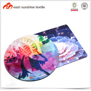 Small Size Mouse Pad with Colorful Cloth pictures & photos