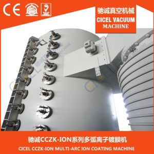 3m 6m Gold, Rose Gold, Black PVD Vacuum Coating Equipment for Stainless Steel Pipe pictures & photos