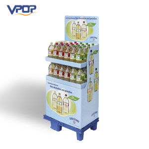 Supermarket Advertising Corrugated Pallet Display for Bottle Drinks pictures & photos