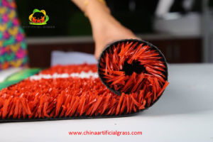 Running Athletic Tracks Red Artificial Grass Synthetic Turf pictures & photos