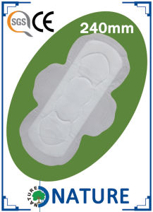 Disposable Regular Sanitary Towel with Wood Pulp pictures & photos