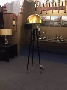 Modern Design Metal Black Gold Floor Lamp (KAF6102) pictures & photos