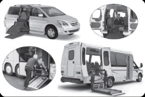 Commercial Vans Wheelchair Ramp Lift System pictures & photos