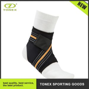 Athlete High Elastic Cross Bandage Magic Tape Ankle Strap pictures & photos