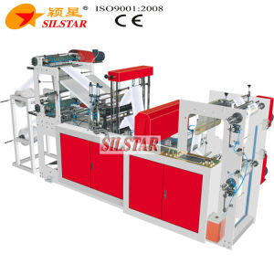 Double Lines High Speed Rolling Bag Machine (GBDR-500II) pictures & photos