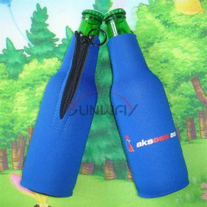 Beer Bottle Cooler Neoprene Insulated Drink Bottle Sleeve Holder Koozie (BC0003) pictures & photos