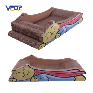 Wholesale Super Man Cat Bed Cat Scratcher Dual Purpose