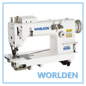 Wd-3800-3pl High Speed Chain Stitch Sewing Machine (With Puller) pictures & photos