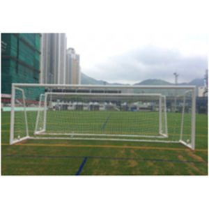 5X2m Portable Aluminum Soccer Goal with Wheels pictures & photos