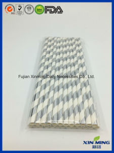 Party Decoration, Silver Foil Strip Paper Straw pictures & photos