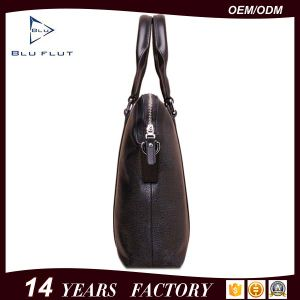 Fashion Designer Genuine Leather Large Capacity Business Briefcase Men Handbags pictures & photos