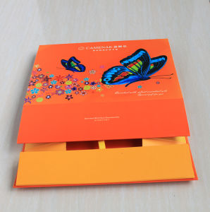 Embossing Printing Hard Cardboard Foldable Paper Box pictures & photos