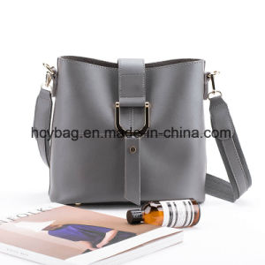 2017 Classical Lady Shoulder Handbags Leather Bag Set European Style Hand Bag Hcy-9956 pictures & photos