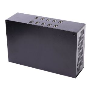 20 Ports 200W 2A*20 Top Speed AC USB Plug Power Wall Charger for Tablet PC pictures & photos