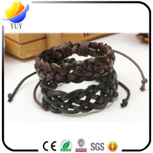 Wholesale National Style PU Leather Bracelets for Fashion Gifts pictures & photos