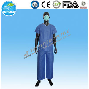 Disposable Original Unisex Medical Nurse Suit pictures & photos
