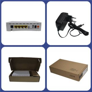 Epon ONU with 1ge 3fe 1VoIP WiFi FTTX Huawei Fiber Optic pictures & photos