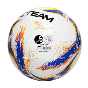 Machine Sewing Size Number 5 4 TPU Soccer Ball OEM pictures & photos
