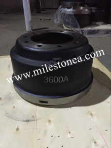 Truck Parts Hot Sale Brake Drums, 3600A for Truck Brake Drum pictures & photos