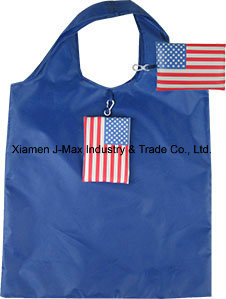 Foldable Flag Shopping Bag, Flag, Promotion, Reusable, Sports Events, Lightweight, Accessories & Decoration, Grocery Bags and Handy pictures & photos