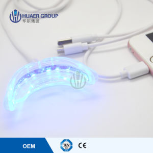 New Style Mini LED Teeth Whitening Light with Double Tray pictures & photos