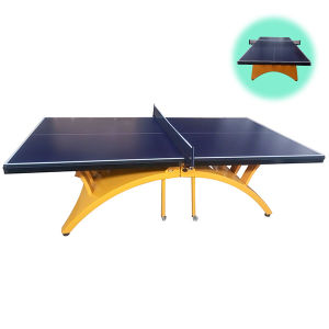 Portable and Folding Indoor MDF Table Tennis Table for Sale pictures & photos