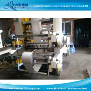 Helical Gear Fours Color Flexo Printing Machinery pictures & photos