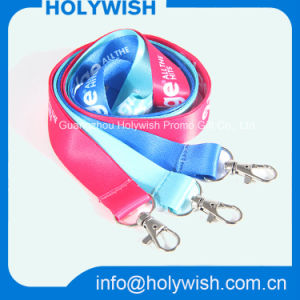 Promotional Key New Custom Polyester Business Exhibition Lanyard pictures & photos