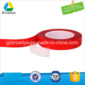 High Adhesion Double Sided Tape Superior Acrylic Foam Liner with Red Film pictures & photos