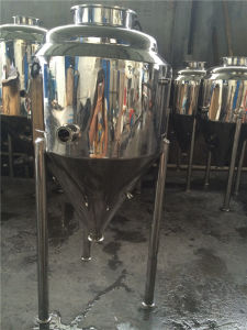 Stainless Steel Jacket Tank with Three Levels for Fermentation pictures & photos