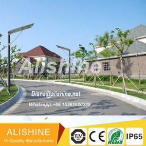 20W Outdoor Energy Saving LED Motion Sensor Solar Garden Street Light pictures & photos