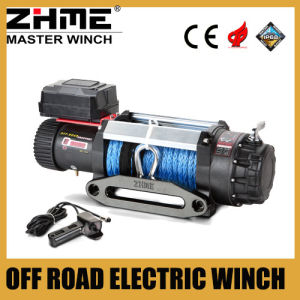 9500lbs 12V off Road Electric Winch with Synthetic Rope pictures & photos