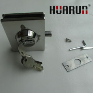New Design Glass Door Lock (HR1170C) pictures & photos