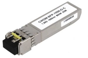 Takfly 1.25gbps 1550nm CWDM SFP Transceiver Module, 80km Reach pictures & photos
