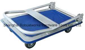 Foldable Platform Hand Truck (HT043) pictures & photos