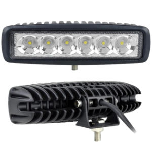 6 Inch 18W Metal Shell Auto Vehicle Top Frame Light Night Working LED Bar pictures & photos