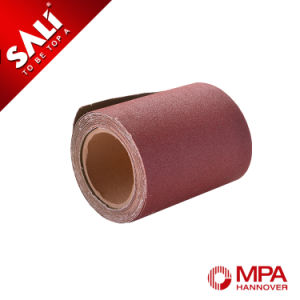 Abrasive Aluminum Oxide Emery Cloth Roll for Machine Using pictures & photos