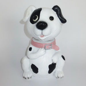 Hot Sale Resin Animals Lovely Dog for Garden Deco pictures & photos