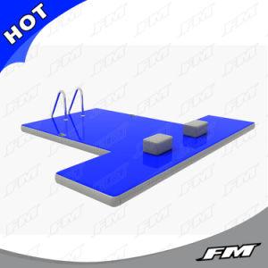 FM Hot Sale Inflatable Floating Dock, Floating Pontoon Dock pictures & photos
