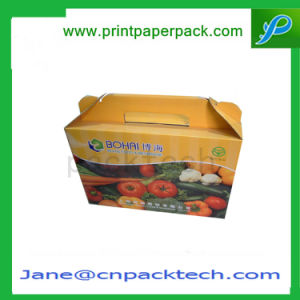 Custom Gable Box Dairy Product Fruit Nourishment Packaging Box pictures & photos