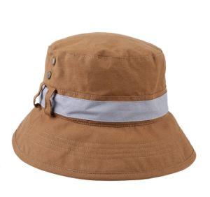 Women′s Cotton Grommet Bucket Hat pictures & photos