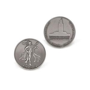 Custom Die Casting Enamel Antique Metal Coin pictures & photos