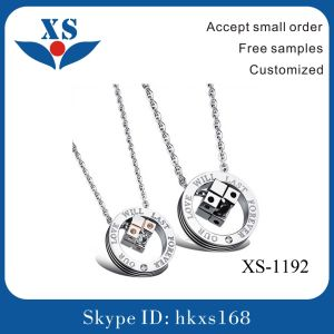 Hot Selling Products Stainless Steel Couple Pendant Charms pictures & photos