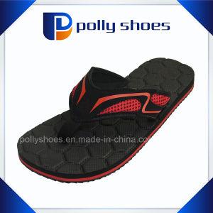 Men′s Rubber Slide Sandal Comfortable Shower Beach Slip Flip Flop pictures & photos