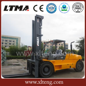 Cummins Engine Fork Lift Container Diesel Forklift 12 Ton pictures & photos