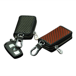 High End New Style Key Bag Carbon Fiber Outdoor Sport Car Key Bag pictures & photos